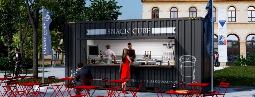 SNACK CUBE (© containerland.fr)