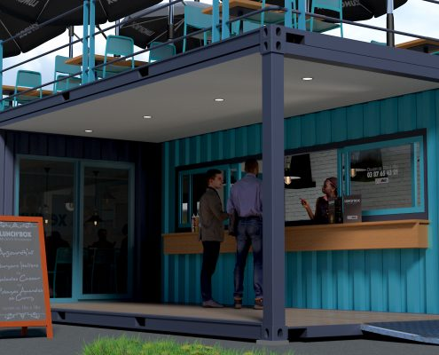 LUNCH BOX - exterior view (© containerland.fr)