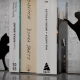 BOOKS (novels) WITH CATS BOOKENDS