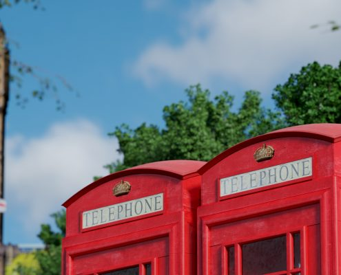 PHONE CABINS in LONDON