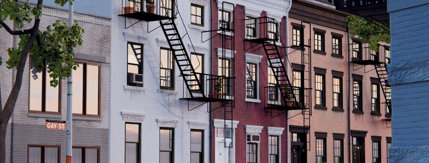 GAY STREET in NEW YORK CITY