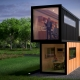 OFFICE CONTAINER, rear view