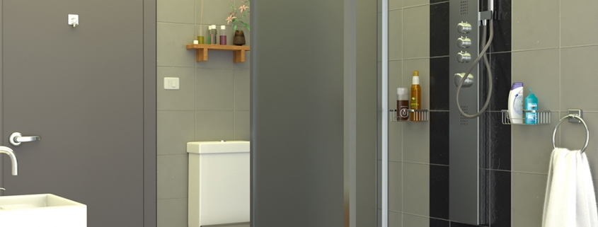 LODGE CONTAINER Bathroom (Shower) V1 - © ALL InCube