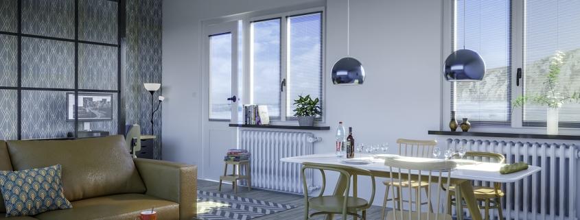 SCANDINAVIAN STYLE INFLUENCED LIVING ROOM