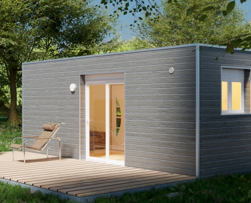 CONTAINER CABIN (© containerland.fr)